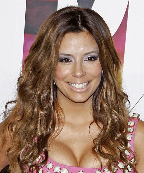 Eva Longoria Parker - Casual Long Curly Hairstyle