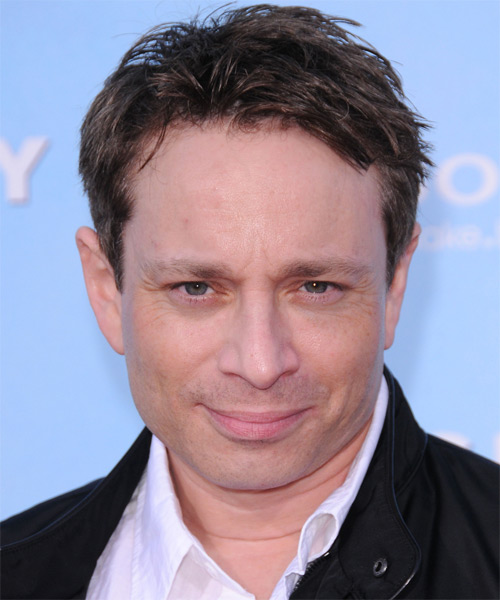 Chris Kattan  Short Straight Hairstyle - Medium Brunette