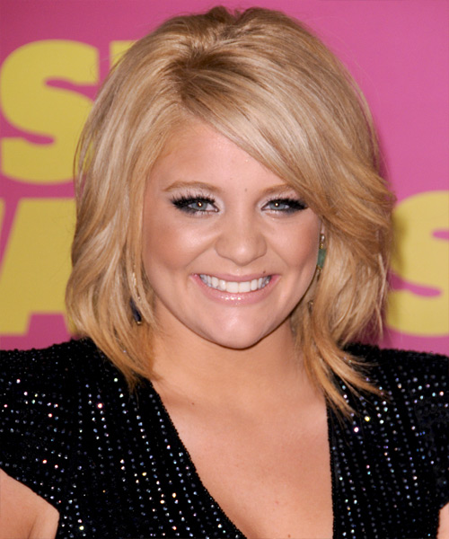 Lauren Alaina - Formal Medium Straight Hairstyle