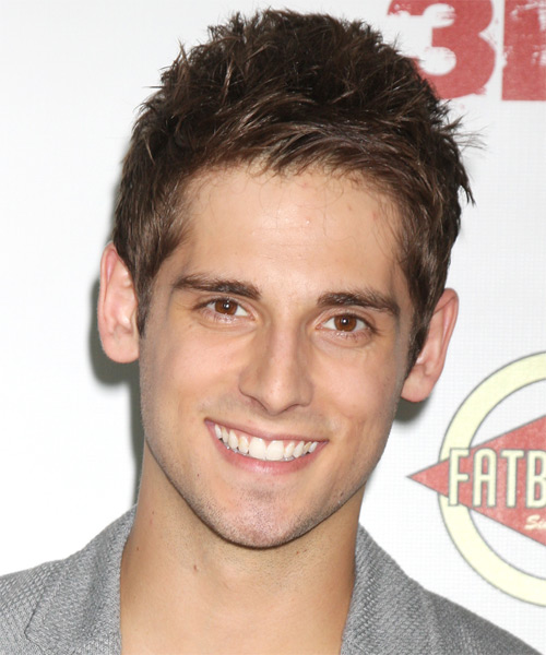 Jean-Luc Bilodeau Short Straight Hairstyle - Light Brunette