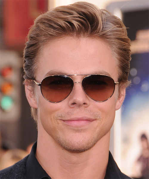 Derek Hough Short Straight Hairstyle - Medium Blonde (Strawberry)