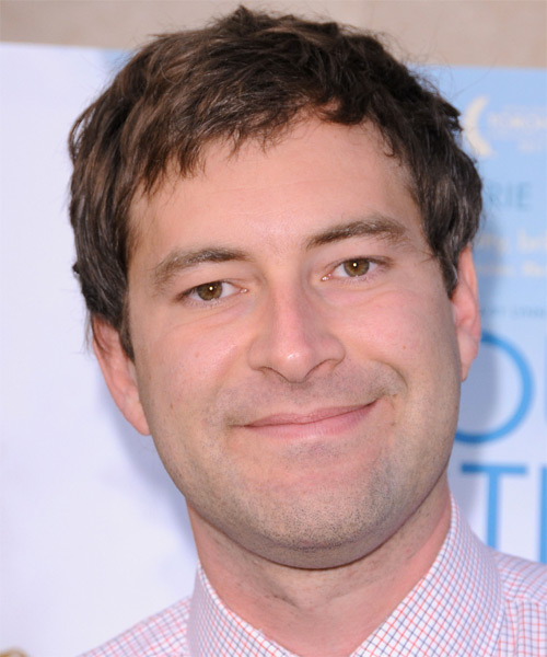 Mark Duplass Short Straight Casual Hairstyle - Medium Brunette Hair Color
