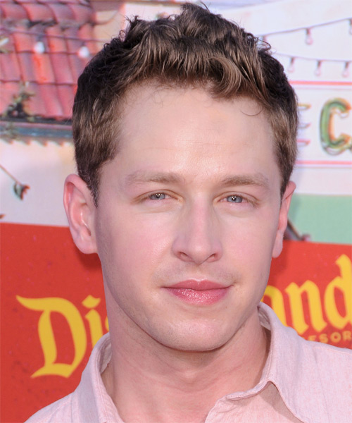 Josh Dallas - Casual Short Straight Hairstyle