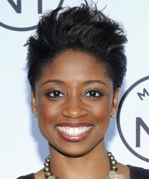 Montego Glover  - Casual Short Straight Hairstyle