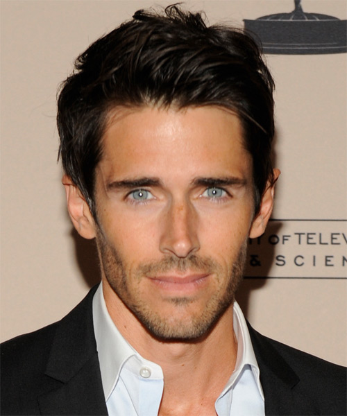 Brandon Beemer  Short Straight Hairstyle - Black
