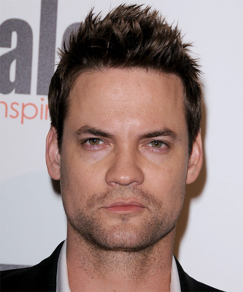 Shane West Short Straight Hairstyle - Medium Brunette