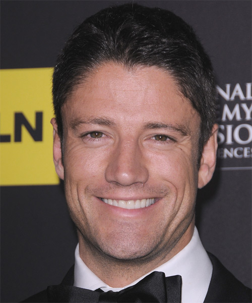 James Scott Short Straight Hairstyle - Black