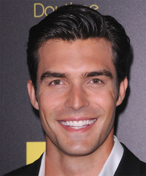 Peter Porte Short Straight Formal Hairstyle - Black Hair Color