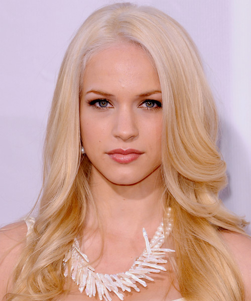 Melissa Ordway Long Straight Formal  - Light Blonde (Golden)