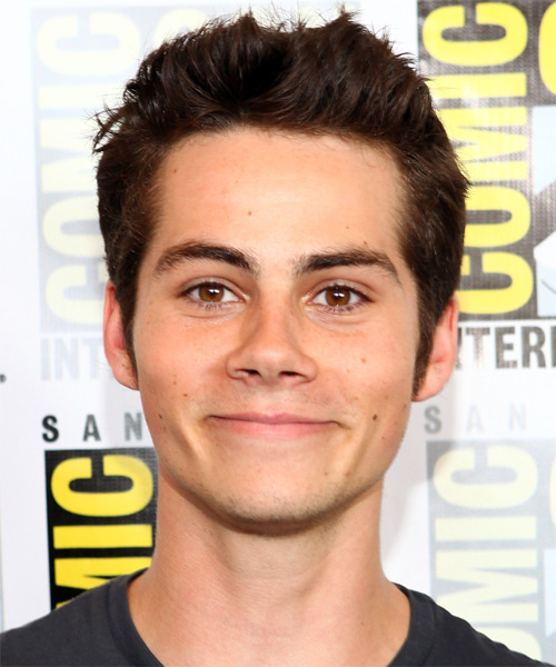 Dylan O'Brien Short Straight Hairstyle - Dark Brunette
