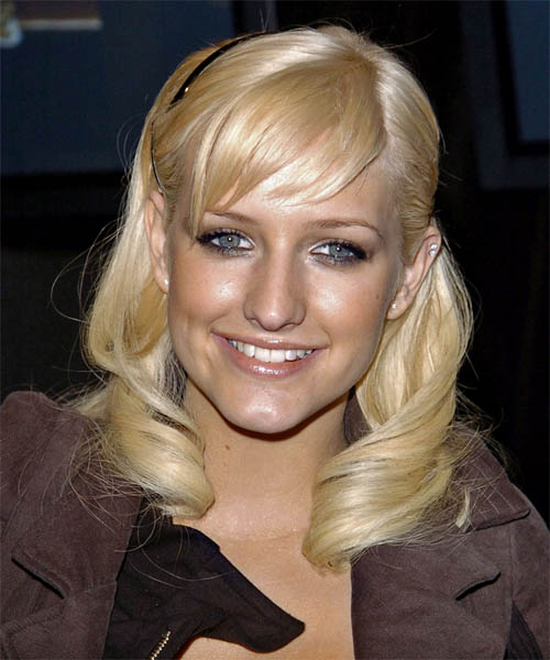 Ashlee Simpson - Formal Long Wavy Hairstyle