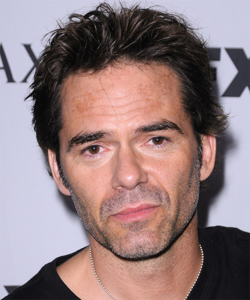 Billy Burke Short Straight Hairstyle - Dark Brunette