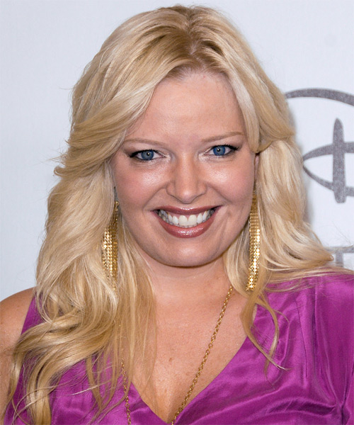 Melissa Peterman Long Straight Hairstyle
