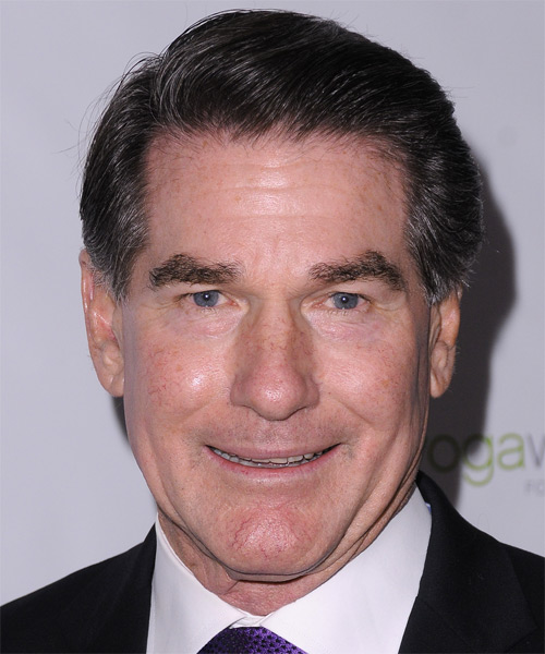 Steve Garvey Short Straight Hairstyle - Medium Brunette (Ash)