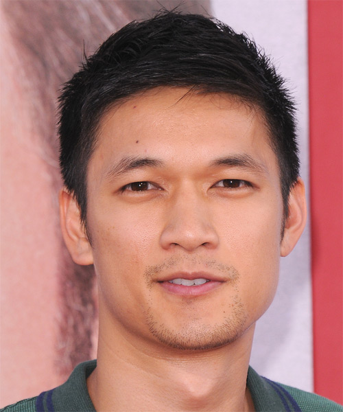 Harry Shum Jr - Casual Short Straight Hairstyle