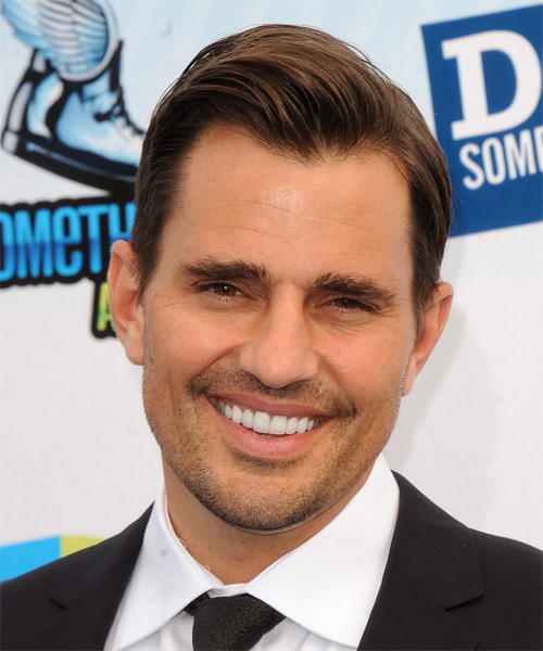 Bill Rancic Short Straight Formal Hairstyle - Medium Brunette Hair Color