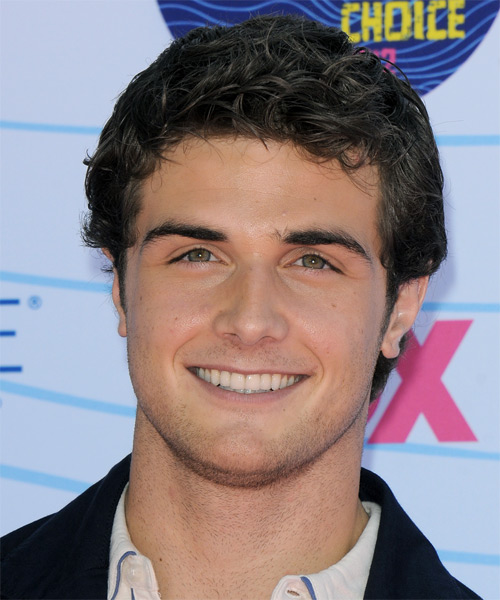 Beau Mirchoff - Casual Short Straight Hairstyle