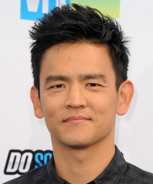 John Cho Short Straight Hairstyle