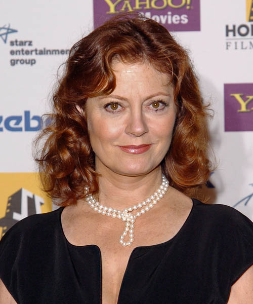 Susan Sarandon Medium Curly Hairstyle