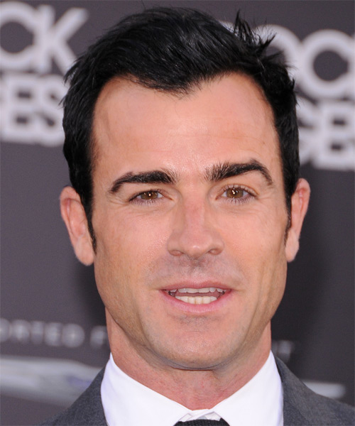 Justin Theroux Short Straight