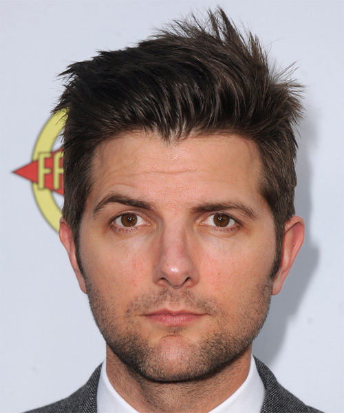 Adam Scott Short Straight Hairstyle (Mocha)