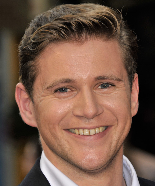 Allen Leech Short Straight Formal  - Medium Brunette