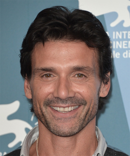 Frank Grillo Short Straight Hairstyle - Black