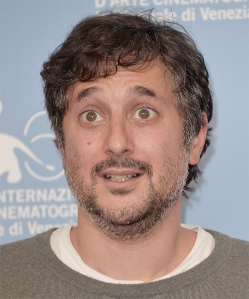 Harmony Korine - Casual Short Wavy Hairstyle