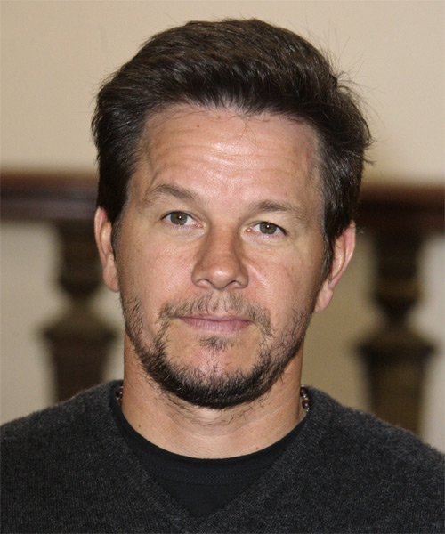 Mark Wahlberg Short Straight Formal Hairstyle - Medium Brunette Hair Color
