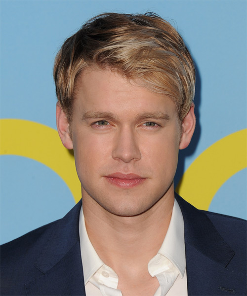 Chord Overstreet Short Straight Hairstyle - Dark Blonde