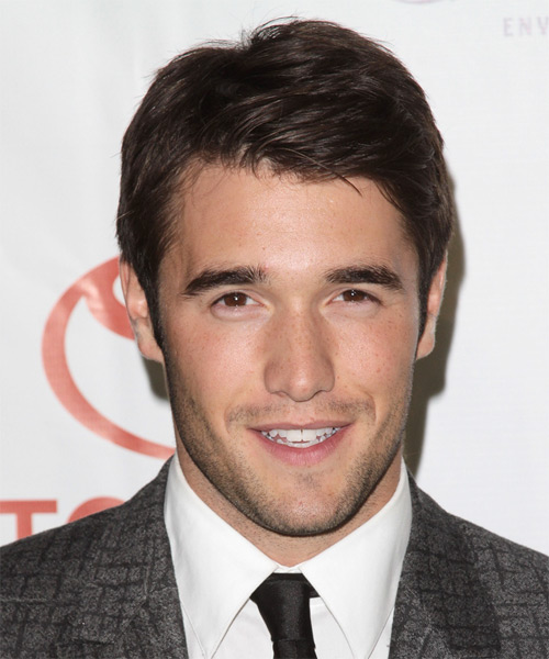 Joshua Bowman Short Straight Hairstyle - Medium Brunette (Mocha)