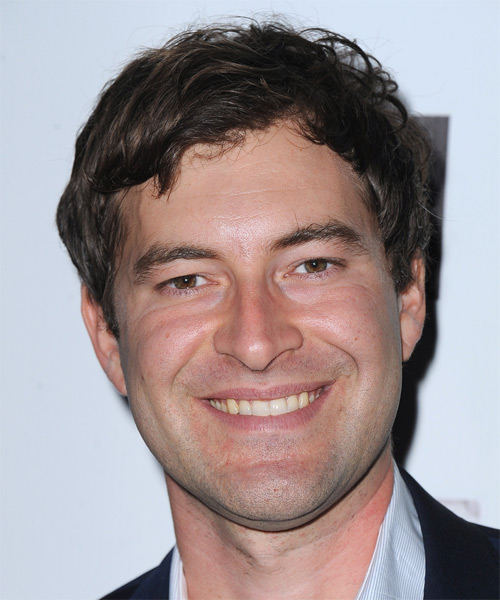 Mark Duplass Short Straight Hairstyle - Dark Brunette