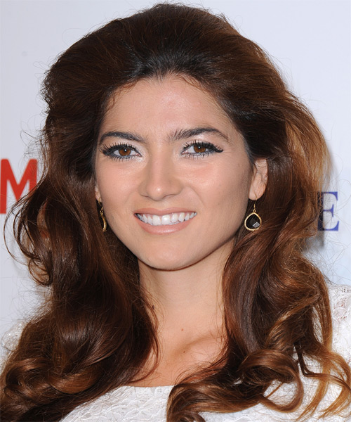 Blanca Blanco - Formal Long Wavy Hairstyle