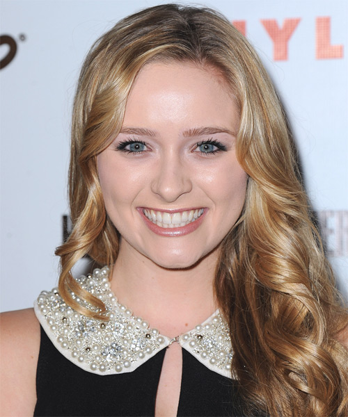 Greer Grammer - Casual Long Wavy Hairstyle