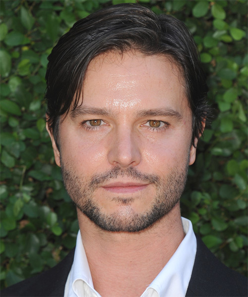 Jason Behr Short Straight Formal Hairstyle - Black Hair Color