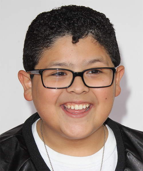 Rico Rodriguez - Casual Short Curly Hairstyle
