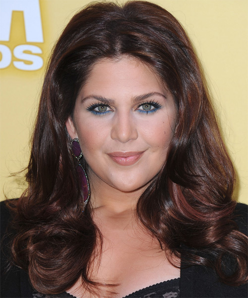 Hillary Scott Long Straight Formal Hairstyle - Dark Brunette (Mocha) Hair Color