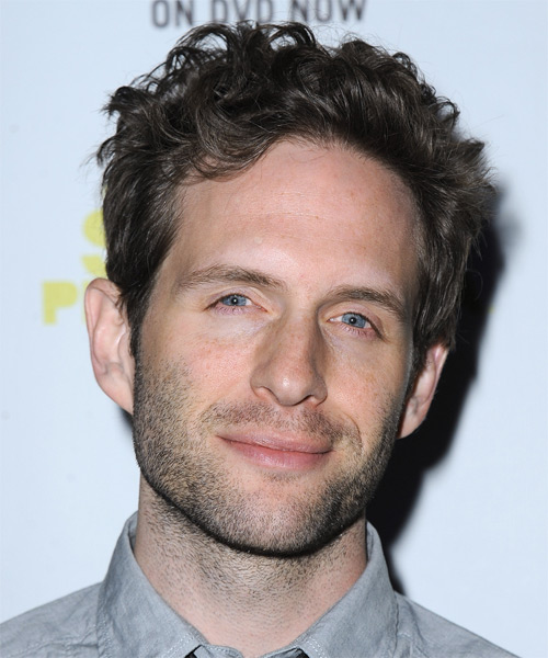 Glenn Howerton Short Wavy Casual Hairstyle - Dark Brunette (Ash) Hair Color