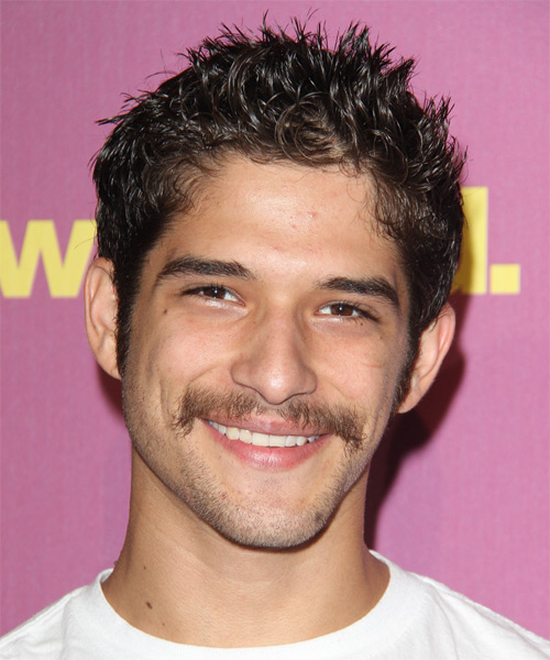 Tyler Posey Short Straight Hairstyle - Dark Brunette