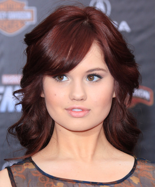 Debby Ryan - Formal Medium Wavy Hairstyle