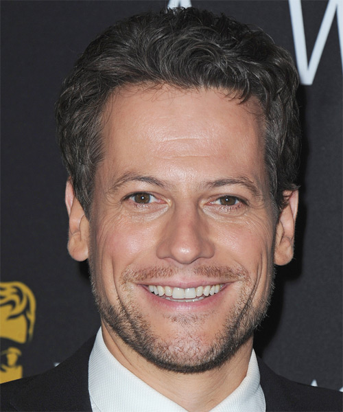 Ioan Gruffudd - Casual Short Wavy Hairstyle