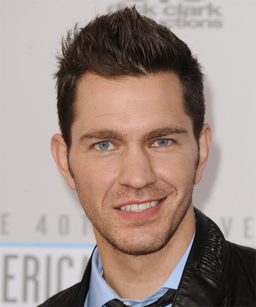 Andy Grammer - Casual Short Straight Hairstyle