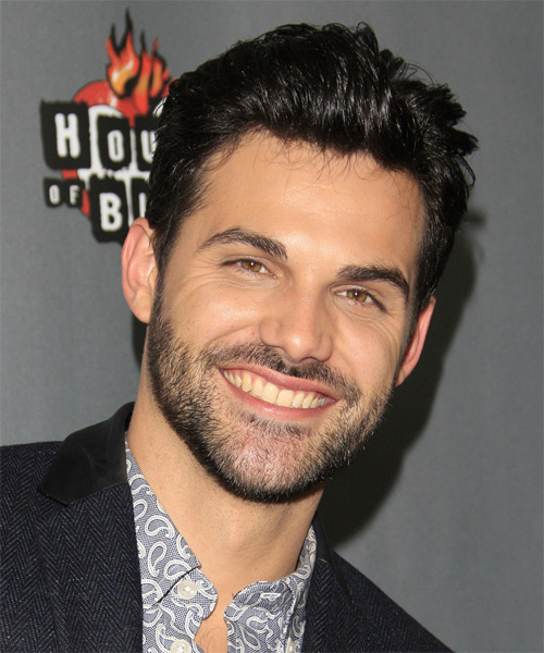 Cody Belew Short Straight Casual Hairstyle - Black Hair Color