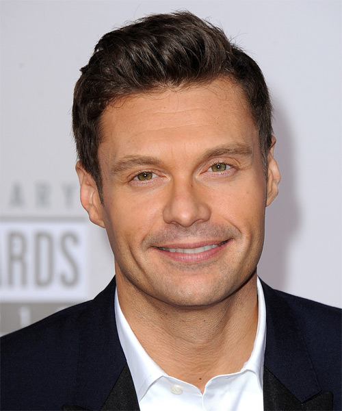 Ryan Seacrest - Formal Short Straight Hairstyle
