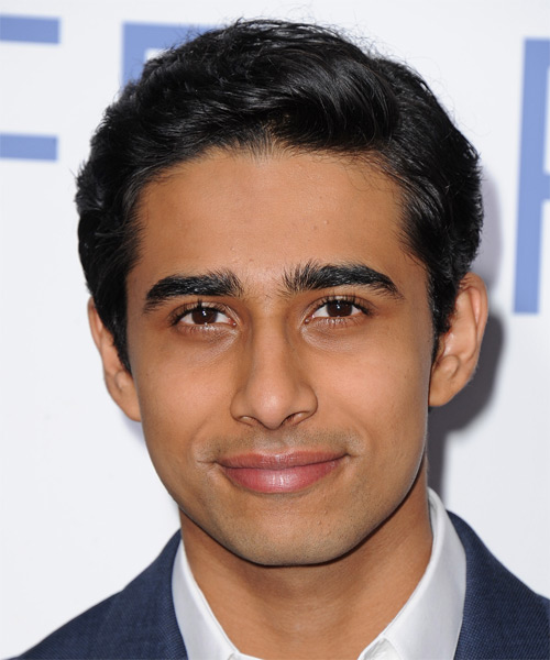 Suraj Sharma Short Straight Formal Hairstyle - Black Hair Color