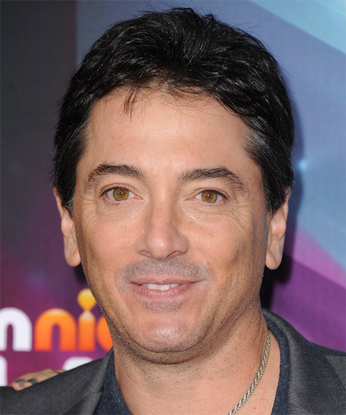 Scott Baio Short Straight Hairstyle - Black