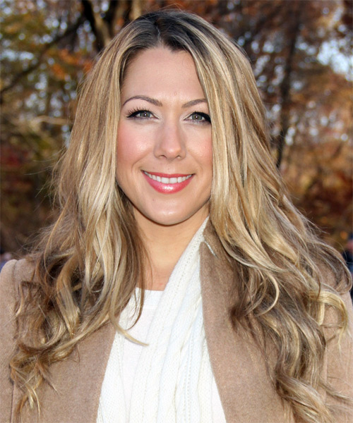 Colbie Caillat Long Straight Hairstyle - Medium Blonde
