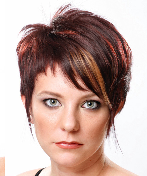 Formal Short Straight Hairstyle