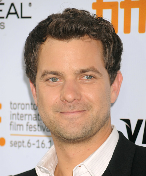 Joshua Jackson Short Wavy Hairstyle - Medium Brunette (Ash)
