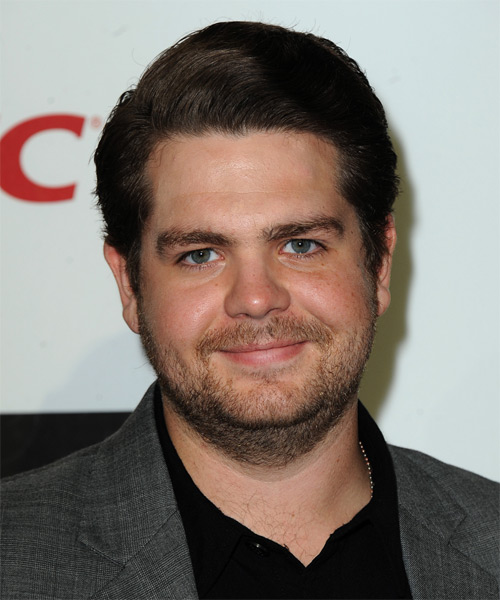 Jack Osbourne Short Straight Formal Hairstyle - Dark Brunette Hair Color